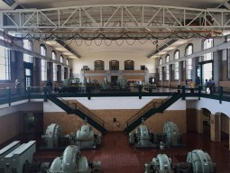 RC Harris pump house interior.